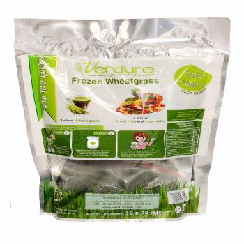 Organic Frozen Wheatgrass (10 servings)